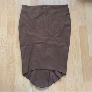Brown Marciano Skirt